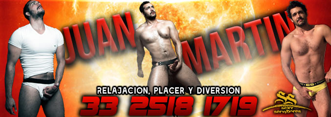 Escort gay Juan Martín