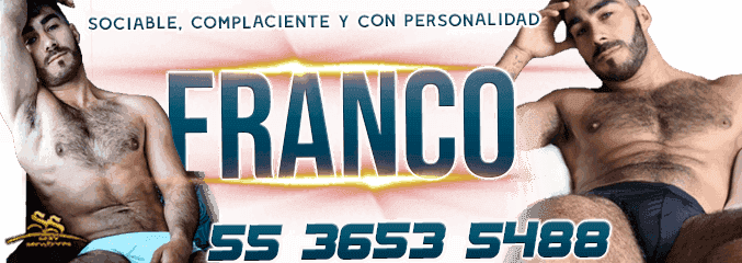Escorts Gay Armando FRANCO